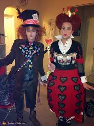 Mad Hatter Halloween Costume Mad Hatter Queen Hearts Halloween Costumes Photo 2 3
