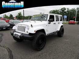 white jeep wrangler unlimited lifted jeep wrangler unlimited lifted in jersey for sale