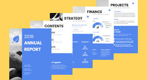 word annual report template 55 customizable annual report templates exles tips venngage