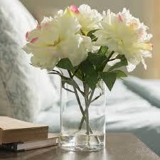 faux peonies peony faux flowers joss