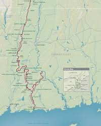 New York Appalachian Trail Map by Metacomet Trail Map To Shore Combining The Metacomet