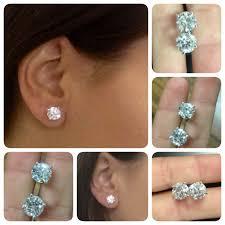 1 4 carat diamond earrings earrings images