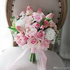 artificial wedding flowers vini pink artificial wedding flowers bridal bouquets