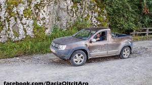 renault duster 2014 dacia duster pick up spotted undisguised