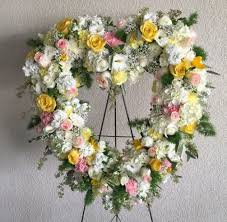heart wreath blooming dreams open heart wreath