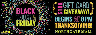 mall black thurs friday 10k gift card giveaway northgate