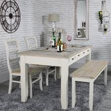 2 chair kitchen table set large grey 8 drawer dining table with bench and 2 chairs cotswold