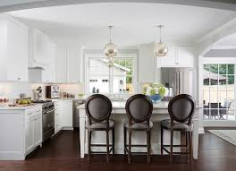 Kitchen Cabinets Restoration All White Kitchen With Dark Floor For Contrast Cape Cod Cottage
