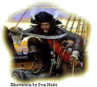blackbeard pirate terror sea history pictures