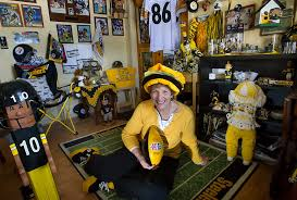 how much are big fans fan s devotion to pittsburgh steelers shows up in all areas of her