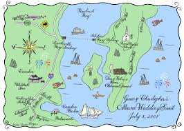 map of camden maine a wedding in maine anyone hooper calligraphy