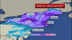 Snowfall Totals Map Marcus Sets All Time Snow Records How Much Snow Has Fallen The