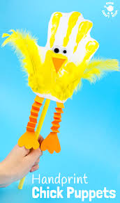 the cutest handprint puppets kids craft room