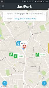 Waze Maps The New Justpark Android App With Navigation From Waze Park Life