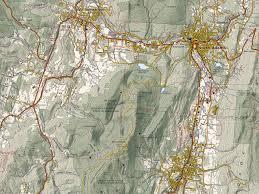 Opal Creek Oregon Map Hiking Maps