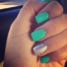 best 25 turquoise acrylic nails ideas on pinterest mint acrylic