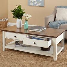 Distressed Coffee Tables by Shabby Chic Coffee Table Ebay