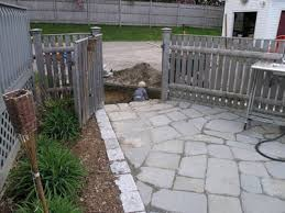 How To Lay Flagstone Patio Dover Projects How To Build A Stone Patio