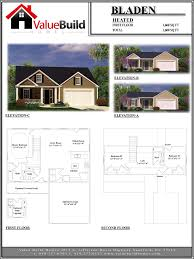 600 Sq Ft Floor Plans by Bladen House Plan Custom Floor Plans By Value Build Homes