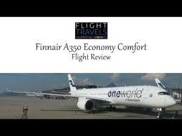 Economy Comfort Class Finnair A350 Flight Review Economy Comfort Class Helsinki To Hong
