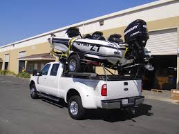 Ford F350 Ramp Truck - towing boat and trailer ford truck enthusiasts forums