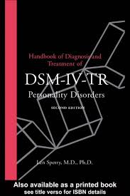 Dsm 5 Desk Reference Ebook by Dr Len Sperry Dsm Iv Tr Handbook Of Personality Disorders