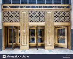 entrance doors the one lasalle building or one lasalle