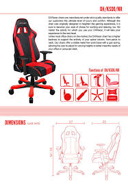 Office Chair Covers Amazon Amazon Com Dxracer King Series Big And Tall Chair Doh Ks06 Nr