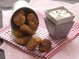 cuisiner le tofu ferme croquettes de tofu nuggets purée de patate douce maison 125 g