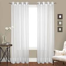 Semi Sheer Curtains Sheer Curtains For Less Overstock Com
