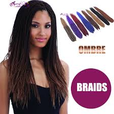 Hairstyles With Jumbo Braiding Hair 2016 Ombre Freetress Braid Bulk Micro Senegalese Twist Crochet