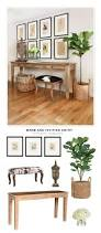 Entryway Table Decor by Best 25 Large Console Table Ideas That You Will Like On Pinterest