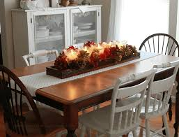 fall decorations for tables slat back dining chair dining table