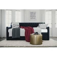 Black Daybed With Trundle Daybeds Joss