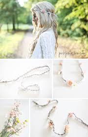flower headbands diy diy floral headband pink pistachio