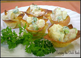 Easy Appetizers by Easy Appetizer Recipe Curried Shrimp Cups Turning The Clock Back