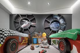 Gallery Of Star Wars Home White Interior Design 1