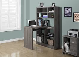 amazon com monarch specialties dark taupe reclaimed look left