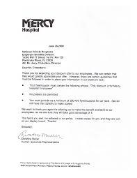 Human Resources Representative Mercy Hospital National Benefits Programs