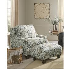 Ottoman Armchair Orange Accent Chair Room Chairs Sitting Room Chairs Armchair And