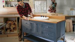 design your own vanity cabinet unique ana white bathroom vanity diy projects in how to build