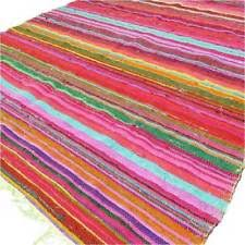 Mission Style Rug Arts U0026 Crafts Mission Style 100 Cotton Area Rugs Ebay