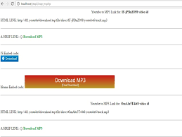 download mp3 from youtube php php youtube to mp3 converter download youtube videos in mp3 audio