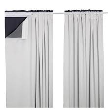 ikea blackout curtains glansnäva curtain liners 1 pair 143x240 cm ikea amazing