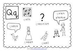 preschool letter q activities and worksheets little dots