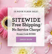 free shipping flowers 1 800 flowers 12 hours only sitewide free shipping no