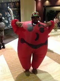 Kool Aid Man Halloween Costume Halloween Costume Ideas Adults