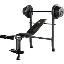 Workout Bench Plans Marcy Weight Bench Set Academy