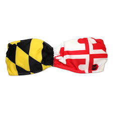 Maryland Flag Socks Maryland Flag Scrunched Bandeau Top From Route One Apparel