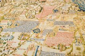 Map Venice Italy by Fra Mauro Map Facsimile Edition